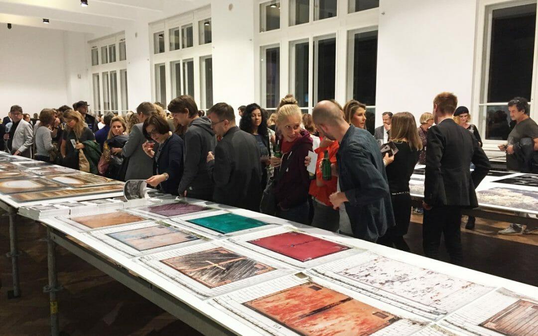 Florian Hirzinger bei der photo::vienna im MAK Wien