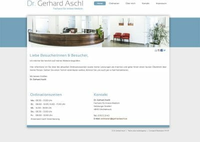Dr. Gerhard Aschl